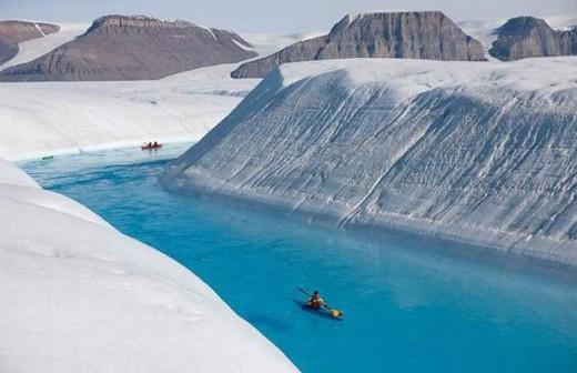Blue River - Petermann Glacier 1