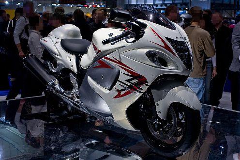 fastest-motorcycle-Suzuki-Hayabusa
