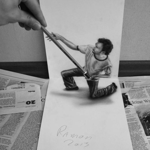 3d-pencil-drawings-by-ramon-bruin-jjk-airbrush-7_s