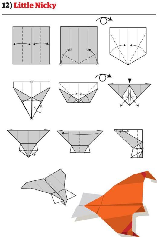 折り 折り紙 よく飛ぶ紙飛行機の折り方 : bokyo-qualia.com
