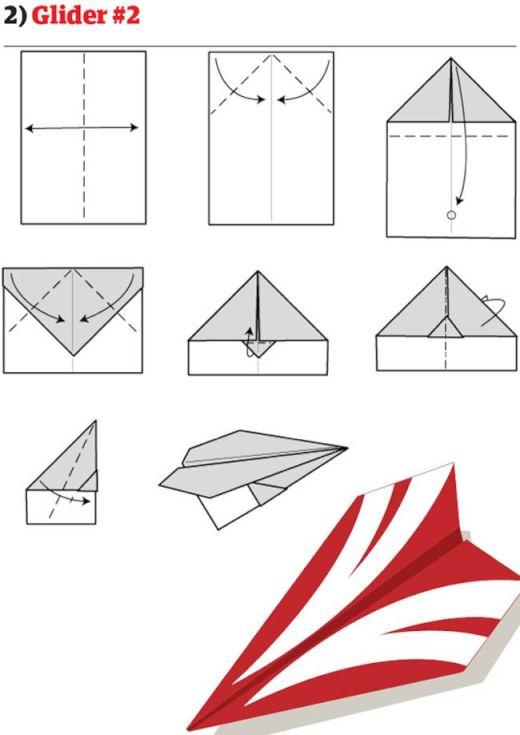 ハート 折り紙 紙飛行機 ギネス 折り方 : bokyo-qualia.com