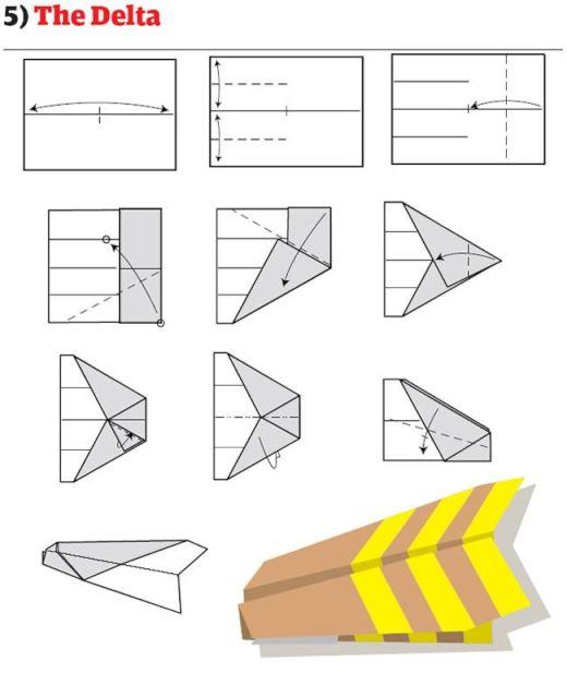 紙 折り紙 紙飛行機折り方 簡単 : matome.naver.jp