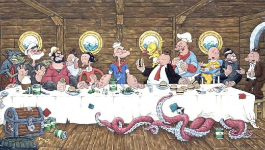 Popeye-Last-Supper_s