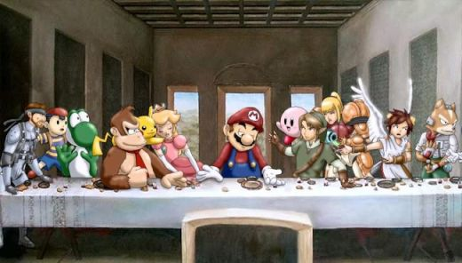 The-Super-Smash-Brothers-Last-Supper_s