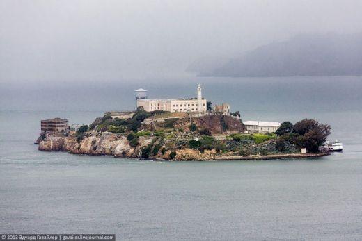 世界で最も有名な刑務所『アルカトラズ』の現在の画像集