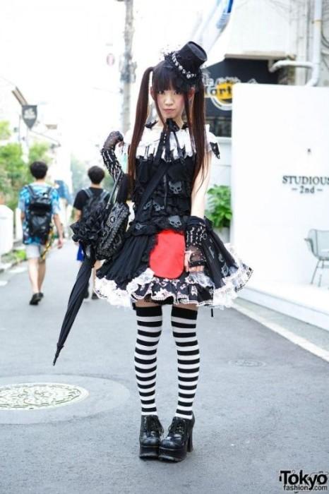 海外サイトで紹介される東京ガールズファッションがぶっとんでいる画像集