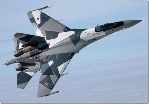 最新型ロシアの戦闘機