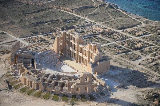 【世界遺産】リビアの古代遺跡を上空から撮影した画像集