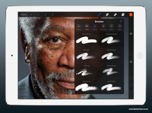 kyle-lambert-morgan-freeman-ipad-finger-painting-brushes[1]
