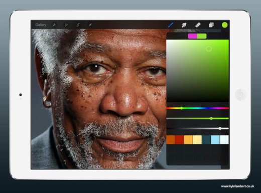 kyle-lambert-morgan-freeman-ipad-finger-painting-color[1]