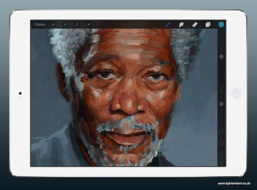kyle-lambert-morgan-freeman-ipad-finger-painting-stage-1[1]