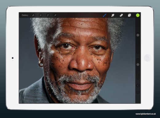 kyle-lambert-morgan-freeman-ipad-finger-painting[1]